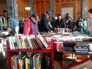 2013 book sale photo