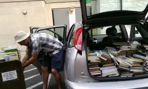 Alex delivering books 2 cropped