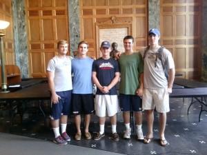 Lacrosse team help Friday group of 5140926_0001